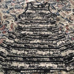 Mossimo Black & White dress